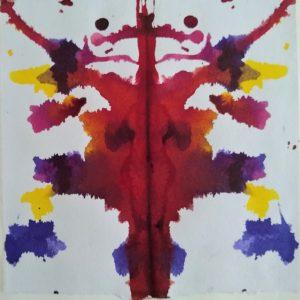 Rorschach ink blot