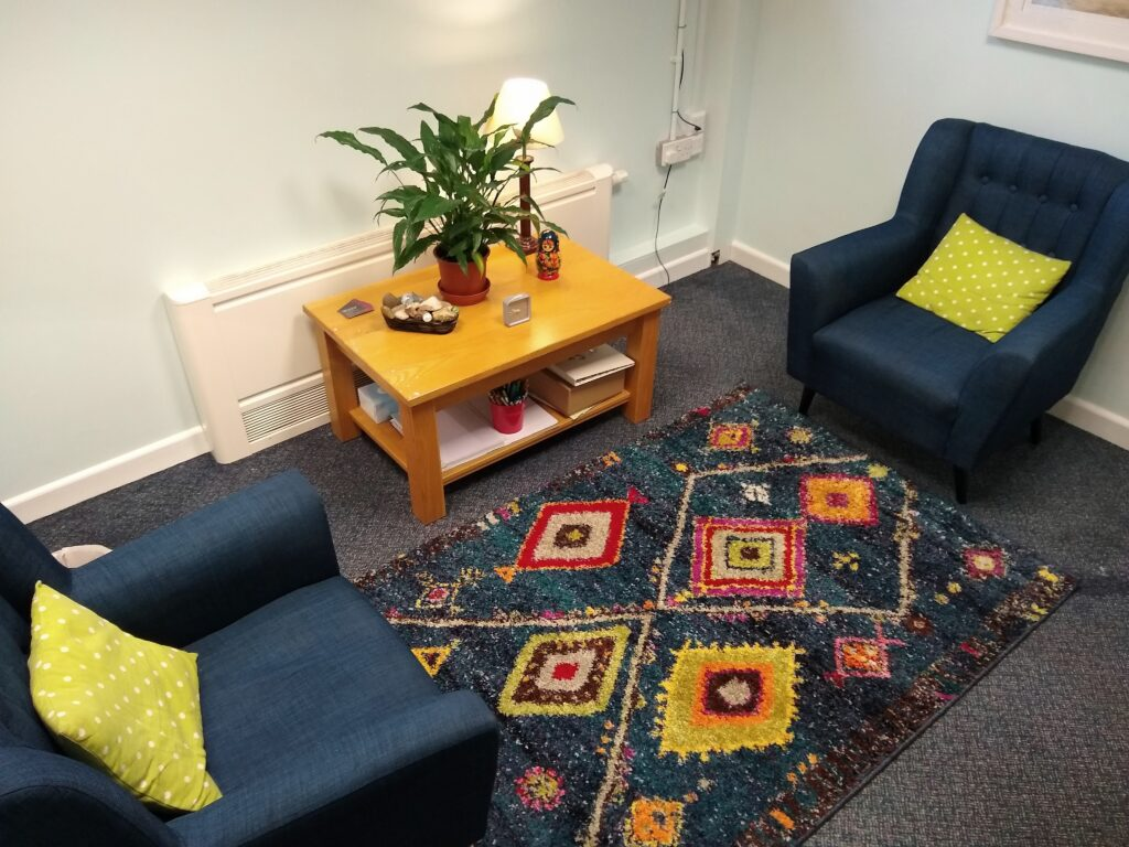 Bright accessible counselling room